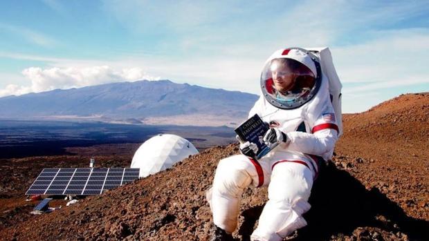 Los colonos han vivido con algunas de las incomodidaes típicas de los astronautas