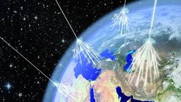 Confirman que los rayos cósmicos vienen de más allá de nuestra galaxia