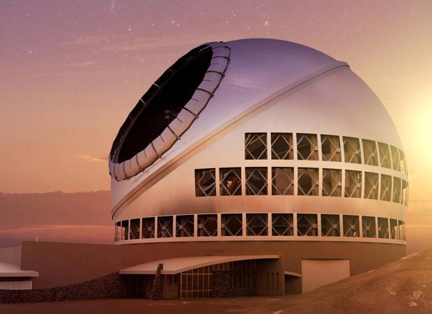 El TMT será uno de los telescopios más gigantescos del mundo