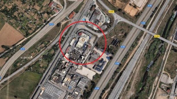 Confinan a trabajadores de una empresa de Mollet (Barcelona) por una fuga química