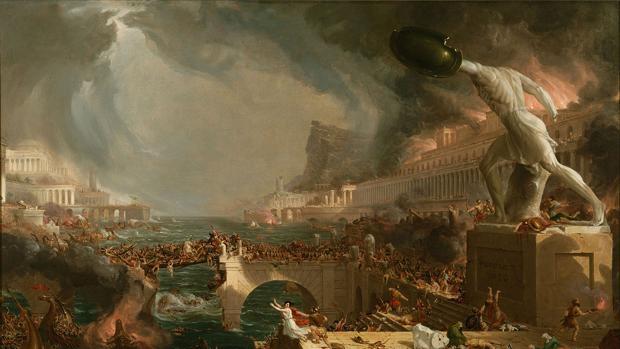 Resultado de imagen para El cambio climático que acabó con el imperio romano