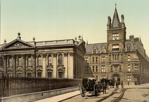 La Casa del Senado en la Universidad de Cambridge