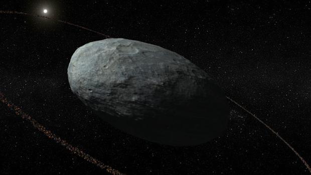 Haumea, el primer planeta enano con anillo