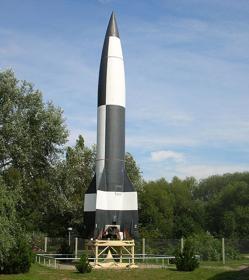 Misil V-2 en la actualidad