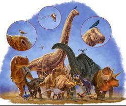 Los dinosaurios demasiado grandes se extinguieron, mientras que los pequeños -que se convirtieron en pájaros- sobrevivieron
