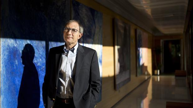 Dimitar Sasselov, Catedrático de Astronomía en la Universidad de Harvard, en la sede de la Fundación BBVA, en Madrid