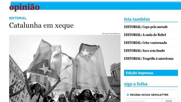 La gran prensa latinoamericana critica el desafío catalán