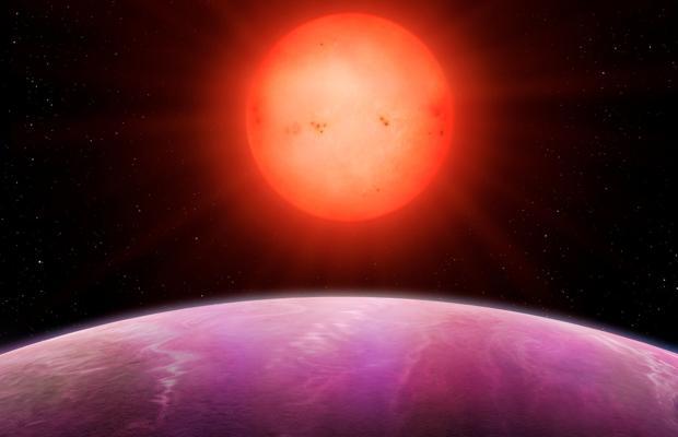 NGTS-1b es un gigante gaseoso situado muy cerca de una estrella enana