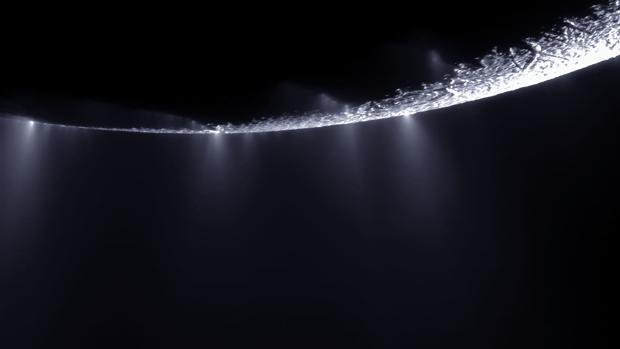 Los géiseres de Encélado