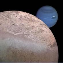 Tritón gira justo en el sentido contrario al resto de lunas de Neptuno