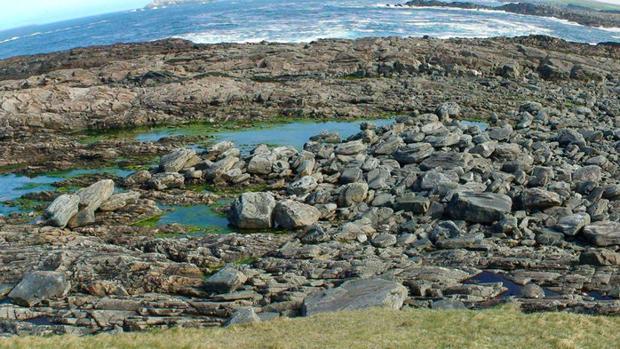Imagen de la península de Annagh Head