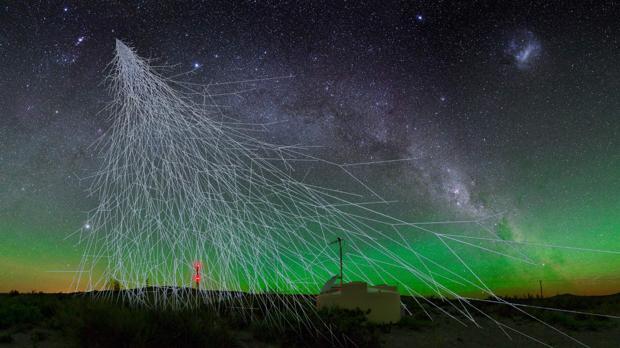 Los rayos cósmicos provienen de más allá de la galaxia
