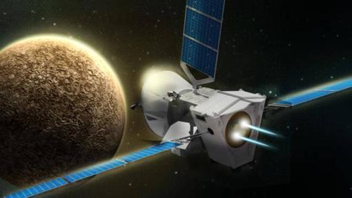 Recreción de la misión Bepi Colombo a Mercurio