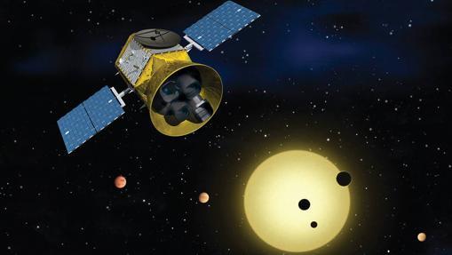 Recreación de la sonda TESS