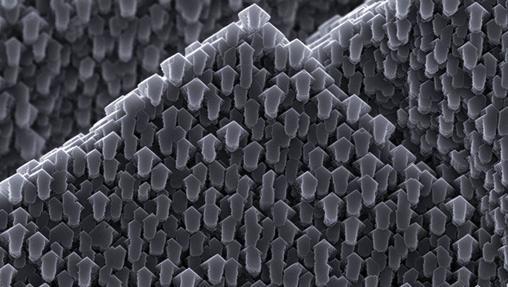 Fotografía de un cristal de calcita