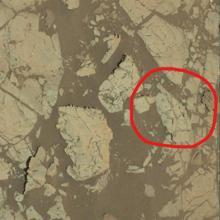Los investigadores identificaron por primera vez las estructuras el 15 de diciembre