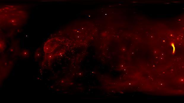 El centro de nuestra galaxia, visto como nunca