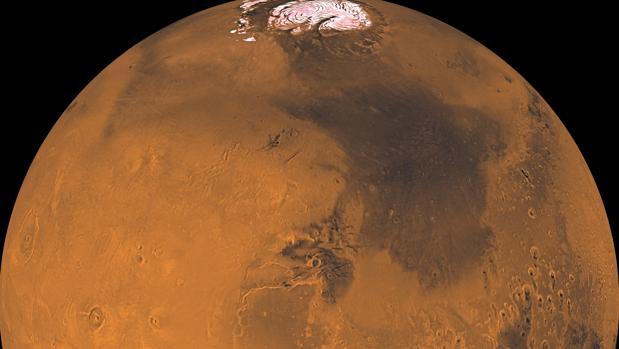 Marte esconde enormes reservas de agua helada bajo la superficie