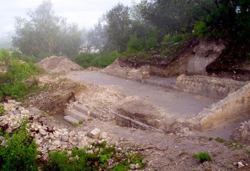 Excavación donde se extrajeron los restos humanos analizados en este estudio