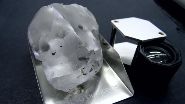 El excepcional diamante descubierto en Lesoto, el quinto más grande del mundo