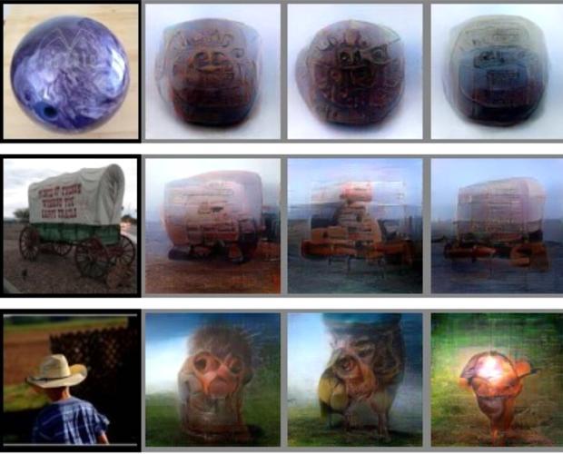 Lo que una persona está mirando y cómo lo interpreta la máquina