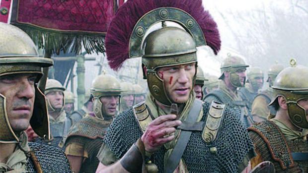 Secuencia de la serie «Roma». El general Marcus Sergius combatió con un brazo de hierro
