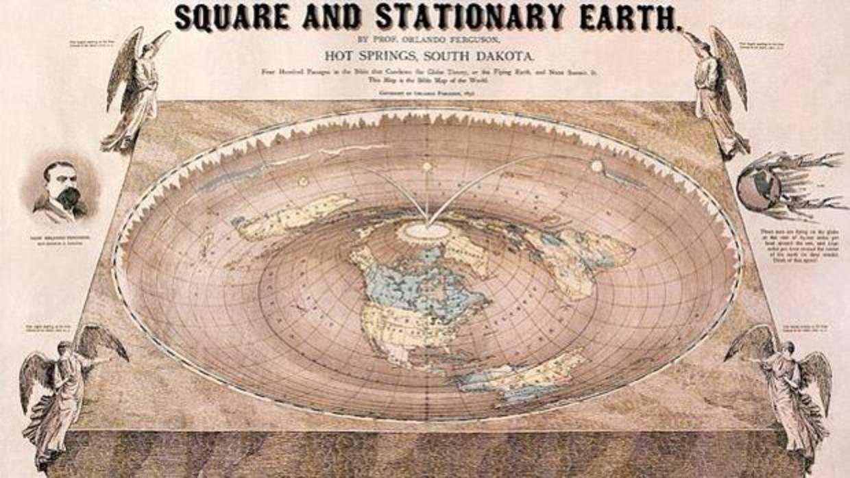 ¿Qué pasaría si la Tierra fuera realmente plana?