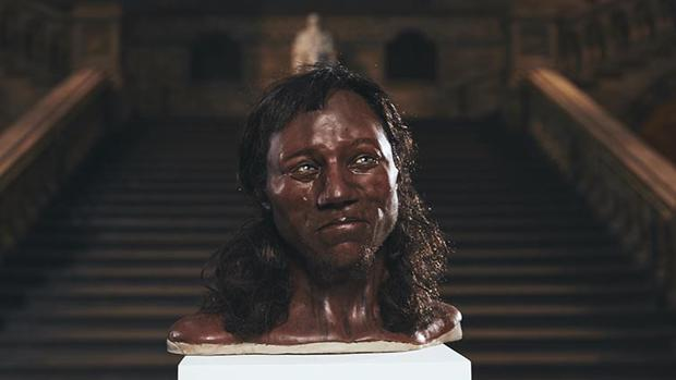 La recreación del Hombre de Cheddar aparecerá en un documental de televisión del Channel 4 británico