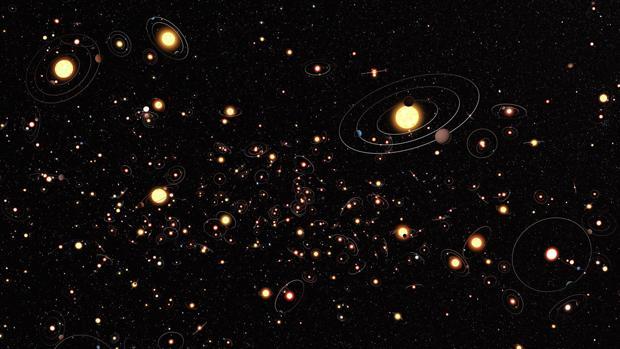 Se cree que hay cientos de miles de millones de exoplanetas solo en la Vía Láctea