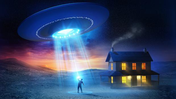 Una interpretación clásica de lo que la cultura popular entiende por contacto extraterrestre