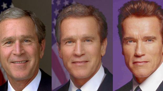 De George Bush a Arnold Schwarzenegger