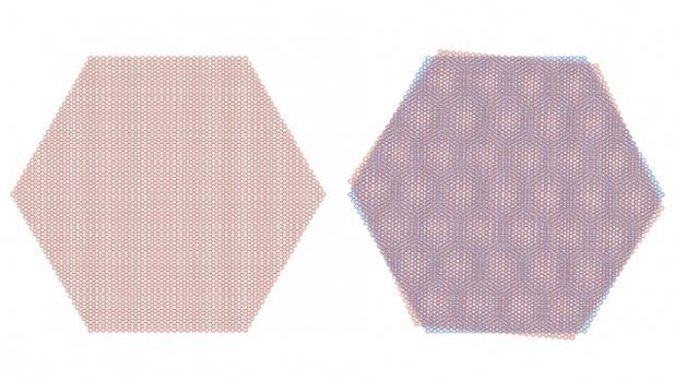 El grafeno puede ser aislante y superconductor