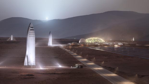 El objetivo a largo plazo es construir bases en la Luna y Marte