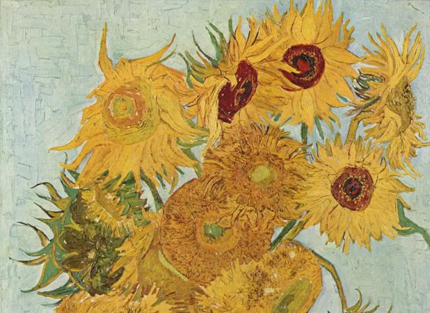 «Los girasoles», de Vincent Willem Van Gogh