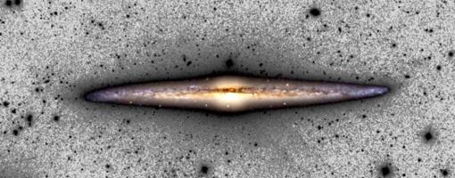 Imagen compuesta de NGC 4565