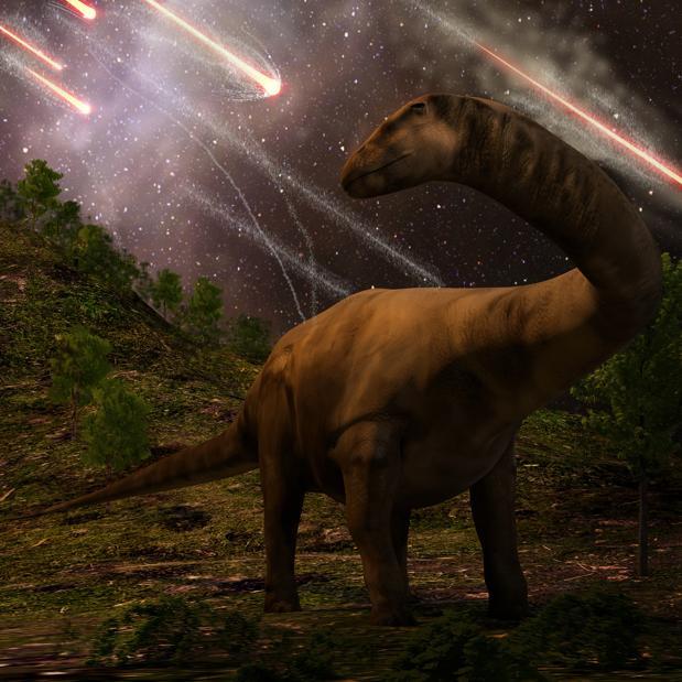 ¿Y si no fue el meteorito? Otra explicación a la extinción de los dinosaurios
