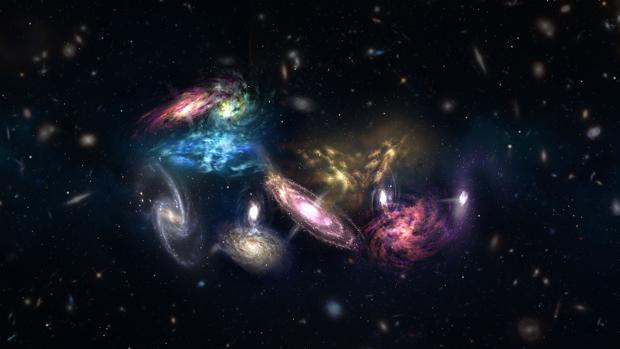 Resultado de imagen de El espacio tiempo se distorsiona allí donde residen objetos pesados como los planetas, las estrellas, galaxias y cualesquiera otros cuerpos masivos.