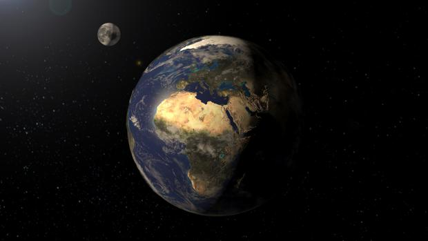 La Tierra gira sobre su eje en la misma dirección desde hace miles de millones de años