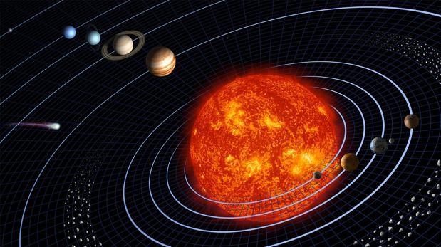 La distinta posición de los otros planetas del Sistema Solar influye en la órbita de la Tierra