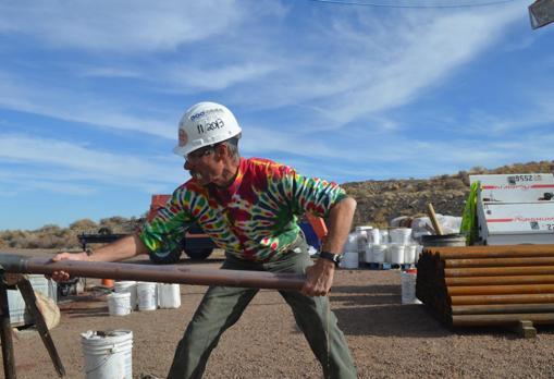 Extracción de testigos de roca en Arizona con hasta 215 millones de años de antigüedad