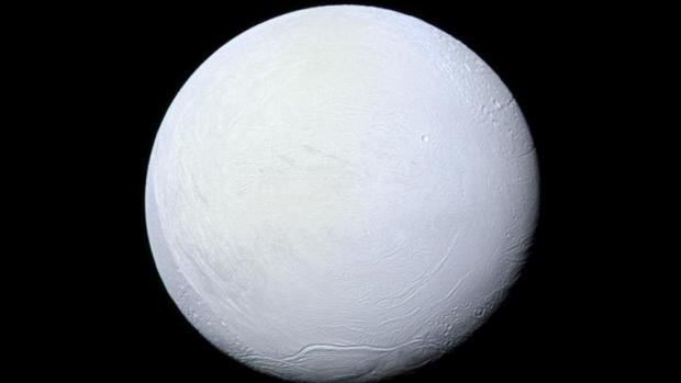 Durante su periodo de «bola de nieve», la Tierra tuvo un aspecto muy parecido al que tiene hoy la luna Encelado, de Saturno