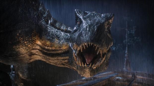 Fotograma de «Jurassic World», del director J.A. Bayona