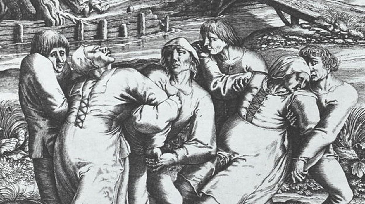 Resultado de imagen de epidemia de baile de 1518