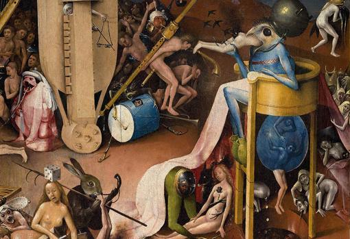 Detalle de «El Jardín de las Delicias», de El Bosco, pintado entre 1500 y 1505
