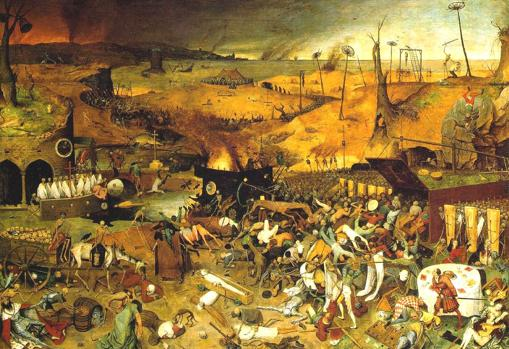 El triunfo de la muerte, de Pieter Brueghel el Viejo, (1562)