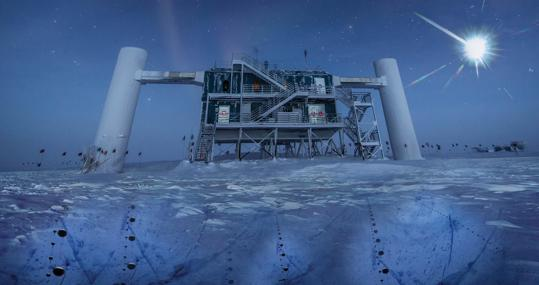 El iceCube Lab, la parte visible del observatorio de neutrinos