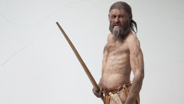 Recreación de Ötzi