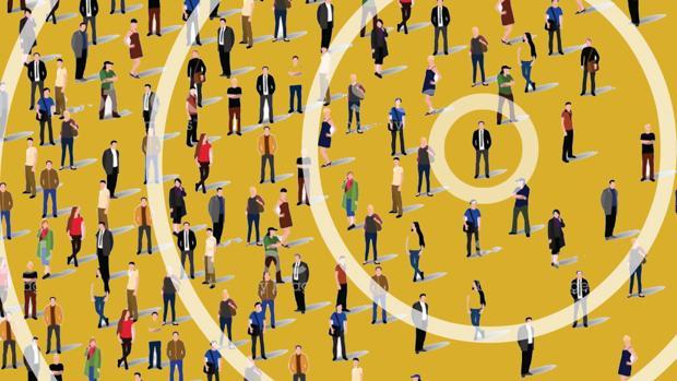 La teoría de los círculos de Dunbar explica que la capacidad del ser humano para mantener amistades está limitada por la cantidad de tiempo y esfuerzo mental