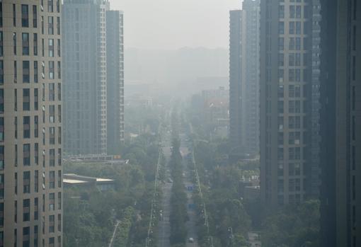 Fotografía tomada en la ciudad de Nankín, el pasado 6 de agosto. Los autores han recomendado abandonar la economía de las emisiones