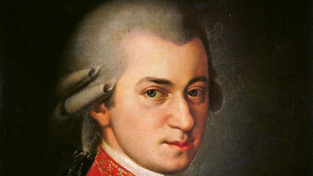 Retrato de Wolfang Amadeus Mozart (1756-1791)